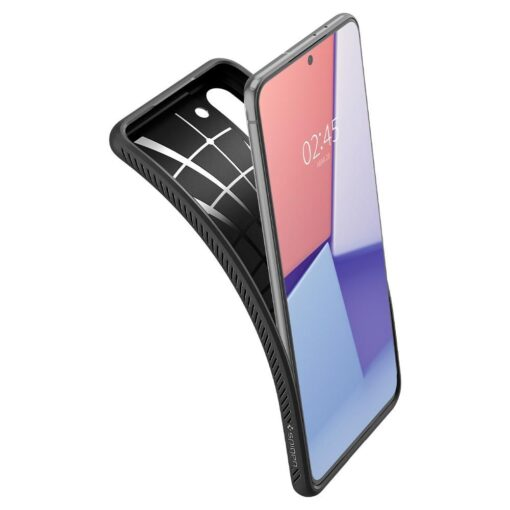 Umbris Spigen Liquid Air Samsung Galaxy S21 Matte Black 5