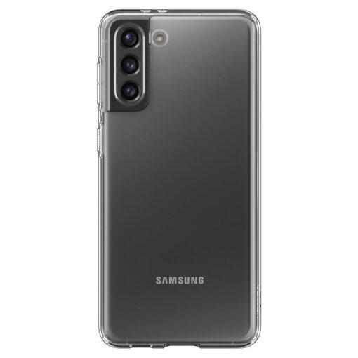 Umbris Spigen Liquid Crystal Samsung Galaxy S21 Crystal Clear 1