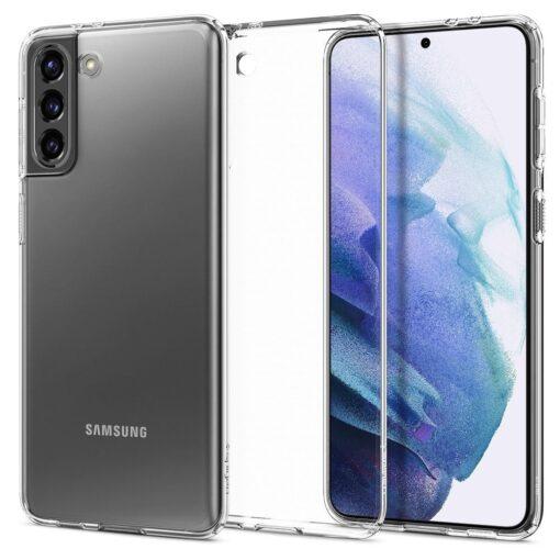 Umbris Spigen Liquid Crystal Samsung Galaxy S21 Crystal Clear