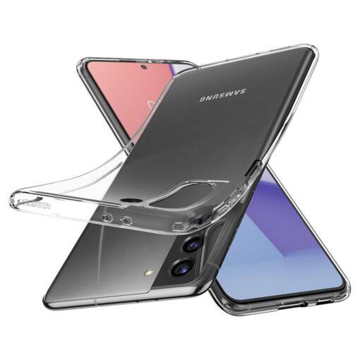 Umbris Spigen Liquid Crystal Samsung Galaxy S21 Crystal Clear 6