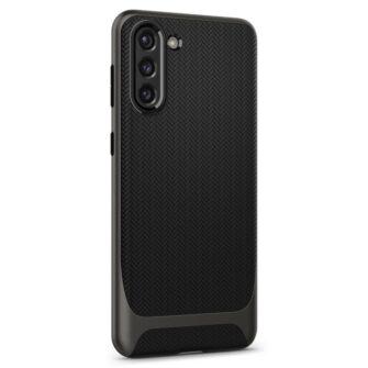 Umbris Spigen Neo Hybrid Samsung Galaxy S21 Gunmetal case 5