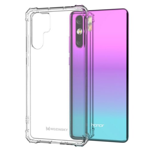 Wozinsky Anti Shock durable case with Military Grade Protection for Huawei P30 Pro transparent
