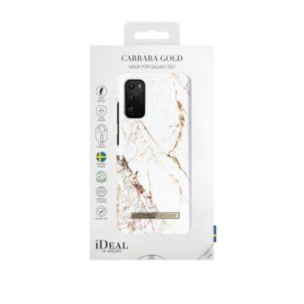 iDeal of Sweden Samsung S20 Carrara Gold umbris 2