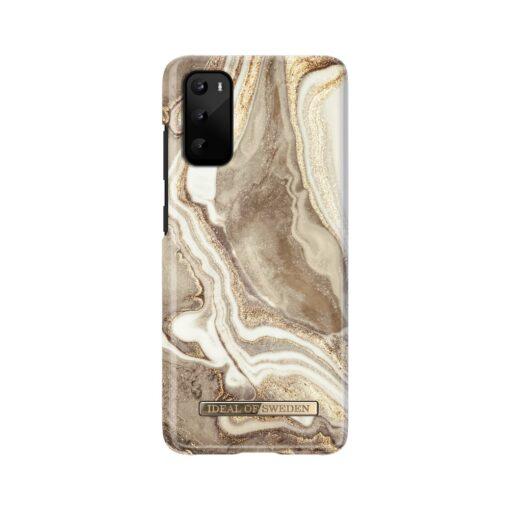 iDeal of Sweden Samsung S20 Golden Sand Marble umbris