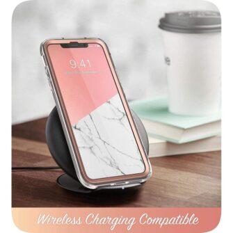 iPhone 11 umbris Supcase Cosmo silikoonist ja plastikust 360 roosa 4