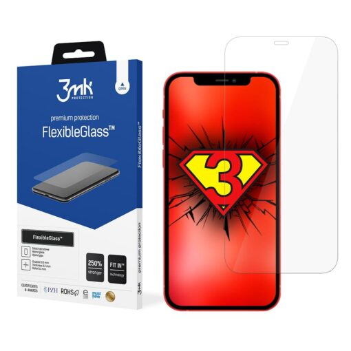 iPhone 12 mini kaitseklaas 3mk hubriid ekraanikaitse min