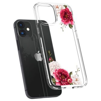 iPhone 12 mini umbris Spigen Cyrill Cecile Red Floral 4