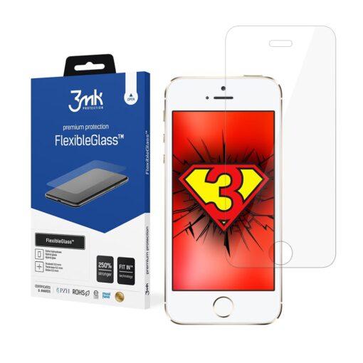 iPhone 5 5S SE kaitseklaas 3mk hubriid ekraanikaitse 4 min