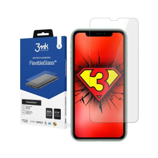 iPhone XR kaitseklaas 3mk hubriid ekraanikaitse