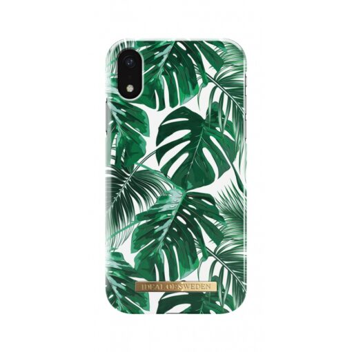 ideal fashion case apple iphone xr monstera jungle 2