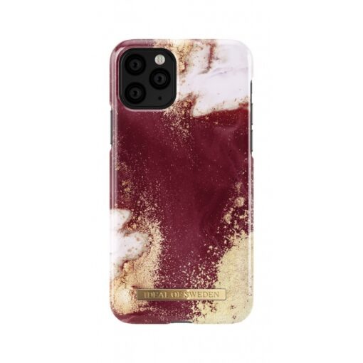 ideal of sweden apple iphone 11 pro golden burgundy marble 2