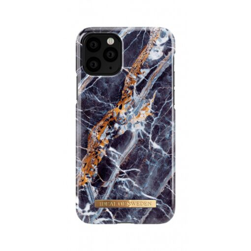 ideal of sweden apple iphone 11 pro midnight blue marble 2