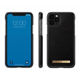 ideal of sweden apple iphone 11 pro saffiano black