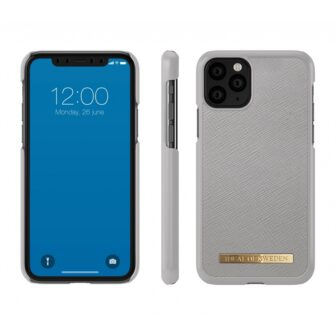 ideal of sweden apple iphone 11 pro saffiano light grey