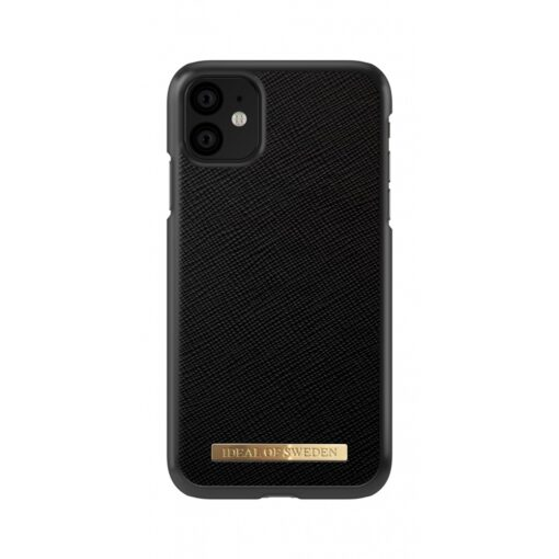 ideal of sweden apple iphone 11 saffiano black 2