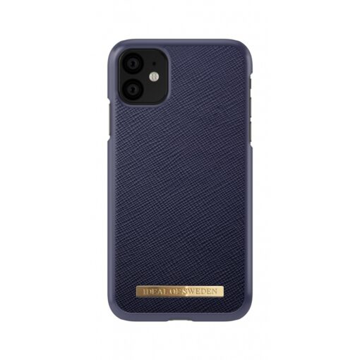 ideal of sweden apple iphone 11 saffiano navy 2