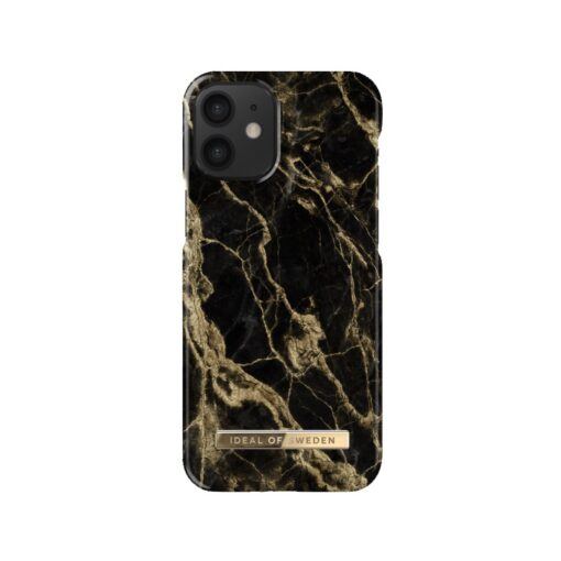 ideal of sweden apple iphone 12 mini golden smoke marble 2