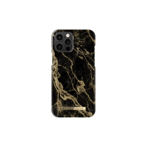 ideal of sweden apple iphone 12 pro max golden smoke marble 2
