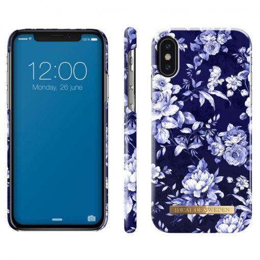 ideal of sweden apple iphone xxs sailor blue bloom