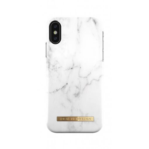 ideal of sweden apple iphone xxs white marble 2