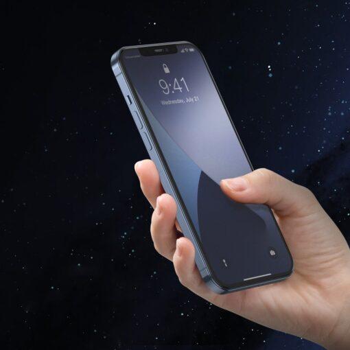 2tk iPhone 12 12 Pro matt kaitseklaas 0.25 mm SGAPIPH61P LM02 8