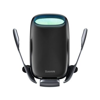 Baseus Milky Way 15W juhtmevaba laadimisega telefonihoidik WXHW02 01 must 5