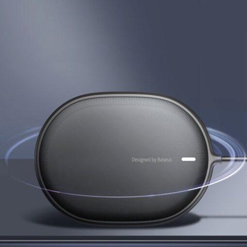 Baseus magnetiga juhtmevaba Qi laadija 15 W MagSafe compatible mustWXQJ 01 16