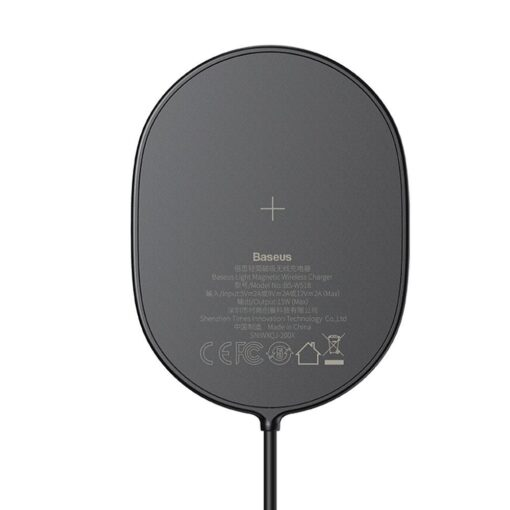 Baseus magnetiga juhtmevaba Qi laadija 15 W MagSafe compatible mustWXQJ 01 6