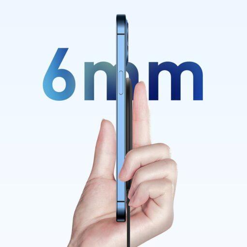 Baseus magnetiga juhtmevaba Qi laadija 15 W MagSafe compatible sinine WXQJ 03 13