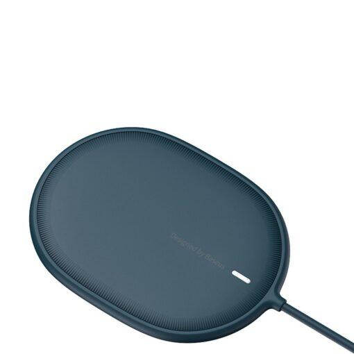 Baseus magnetiga juhtmevaba Qi laadija 15 W MagSafe compatible sinine WXQJ 03 2