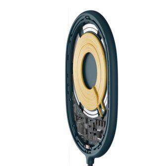 Baseus magnetiga juhtmevaba Qi laadija 15 W MagSafe compatible sinine WXQJ 03 3