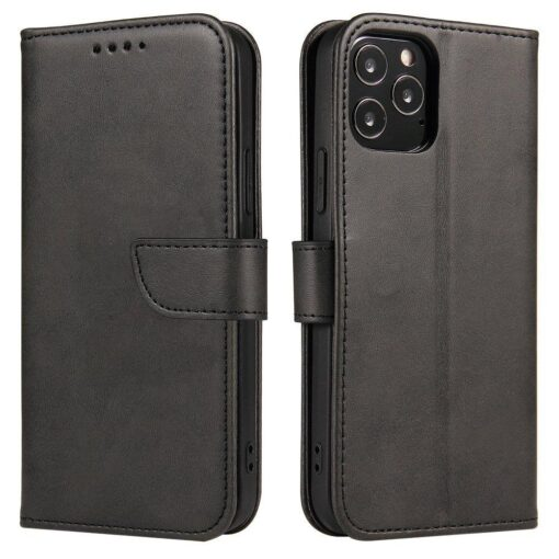 Huawei P30 Lite magnetiga raamatkaaned must