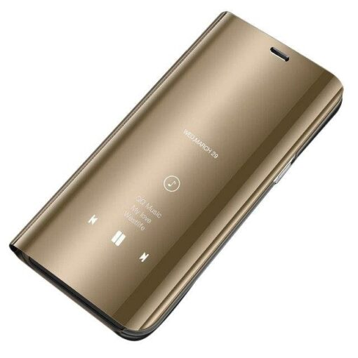 Huawei P30 Pro Clear View Kaaned kuldne