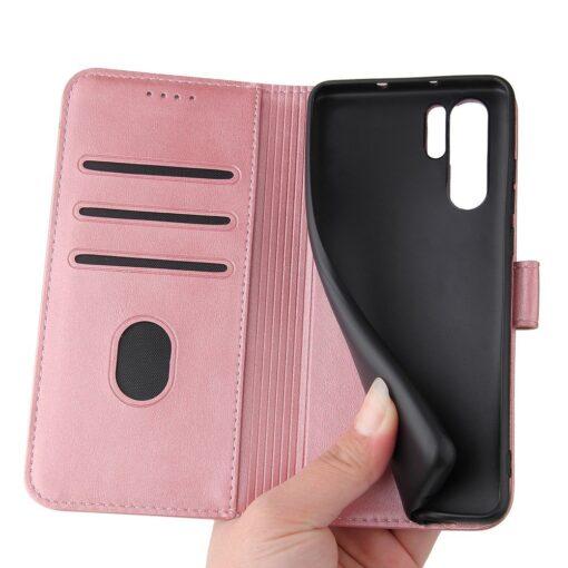 Huawei P30 Pro magnetiga raamatkaaned roosa 3