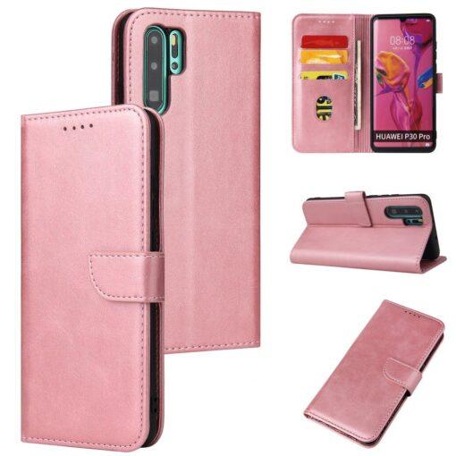 Huawei P30 Pro magnetiga raamatkaaned roosa 5