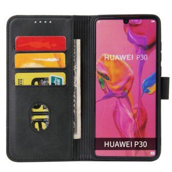 Huawei P30 magnetiga raamatkaaned must 2