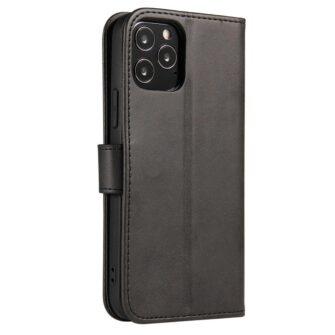 Huawei P40 Lite magnetiga raamatkaaned must 1