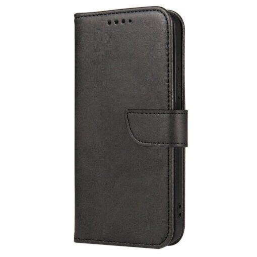 Huawei P40 Lite magnetiga raamatkaaned must 2