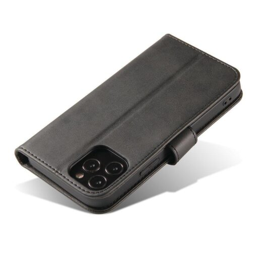 Huawei P40 Lite magnetiga raamatkaaned must 4