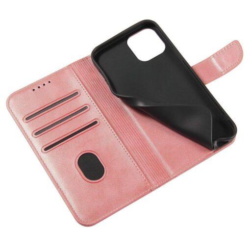 Huawei P40 Lite magnetiga raamatkaaned roosa 6