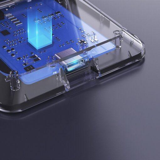 Nillkin 15W juhtmevaba laadija Qi hoidik USB ja USB C kaabliga 6