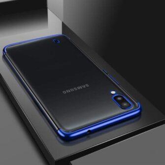 Samsung A10 umbris silikoonist laikivate servadega sinine 1