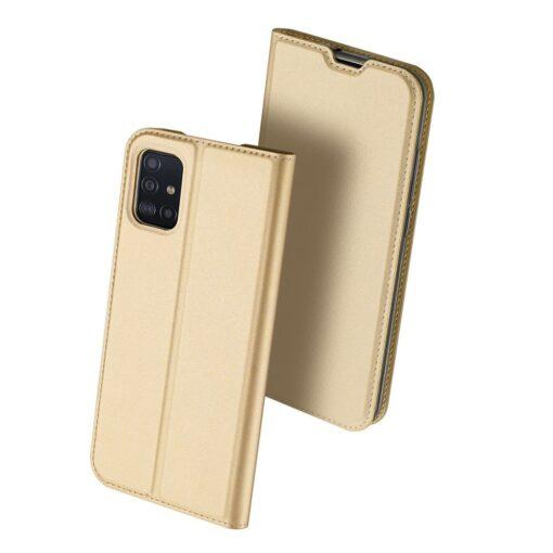 Samsung A51 kaaned Dux Ducis Skin Pro kaaned kuldne 1