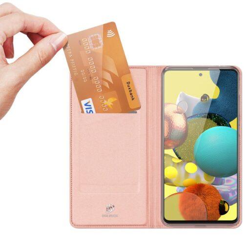 Samsung A51 kaaned Dux Ducis Skin Pro kaaned roosa 1