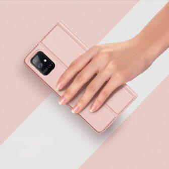 Samsung A51 kaaned Dux Ducis Skin Pro kaaned roosa 10