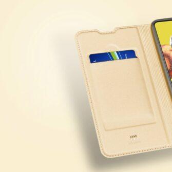 Samsung A51 kaaned Dux Ducis Skin Pro kaaned roosa 12