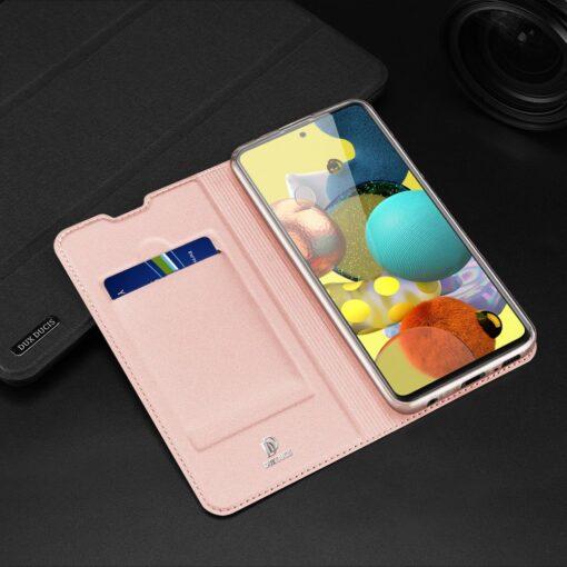 Samsung A51 kaaned Dux Ducis Skin Pro kaaned roosa 22