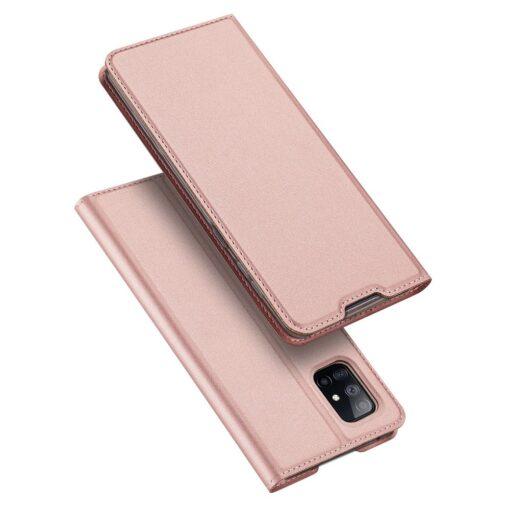 Samsung A51 kaaned Dux Ducis Skin Pro kaaned roosa