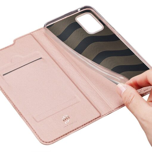 Samsung A51 kaaned Dux Ducis Skin Pro kaaned roosa 6