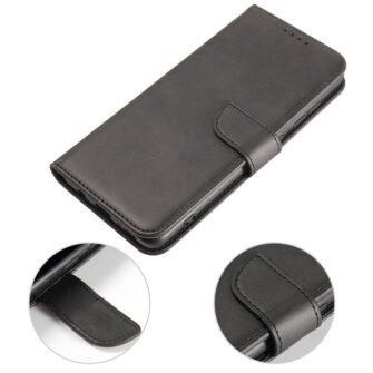 Samsung A51 magnetiga raamatkaaned must 4